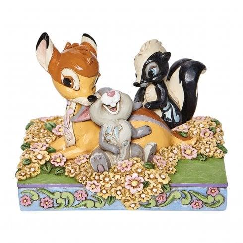 Disney Traditions Childhood Friends Bambi Figurine
