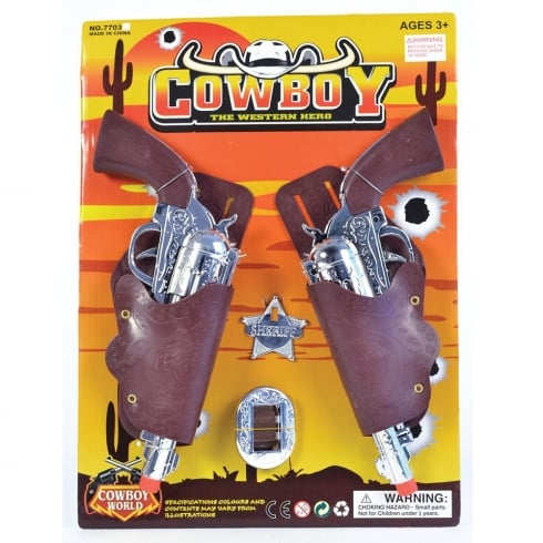 Bristol Novelty Childrens Cowboy Gun & Holster Set