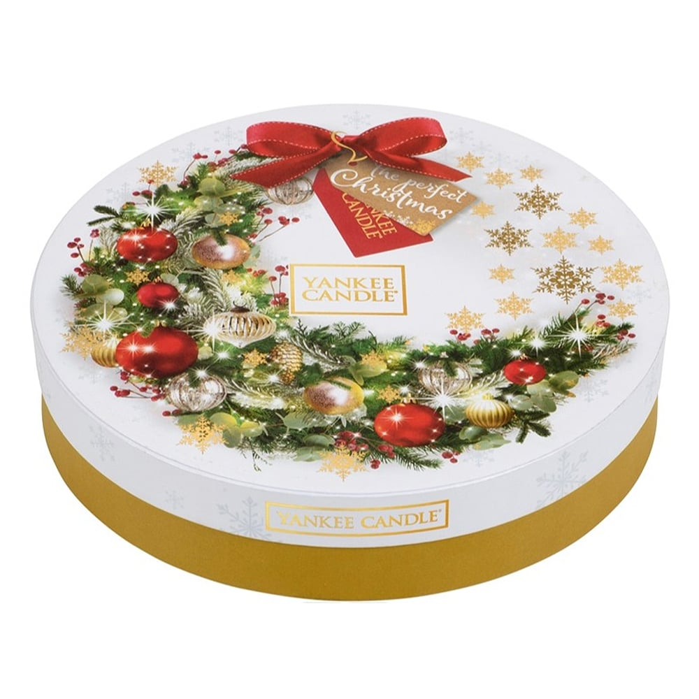 Yankee Candle Christmas 2017 Tea Light Wreath Gift Set 1561235