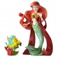 Christmas Ariel Figurine