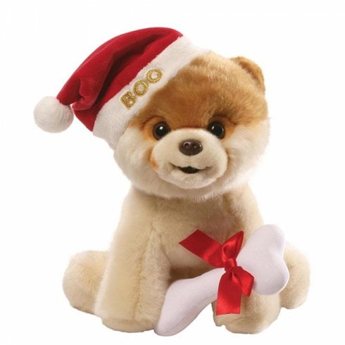 Gund Christmas Boo Dog Soft Toy