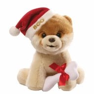 Christmas Boo Dog Soft Toy