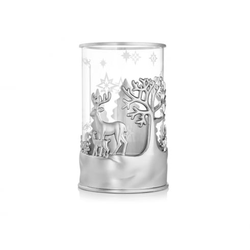 Newbridge Silverware Christmas Deers T-Light Holder