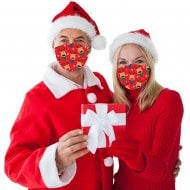 Christmas Face Covering - Reindeer