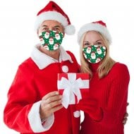 Christmas Face Covering - Santa
