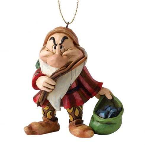 Disney Traditions Christmas Grumpy Hanging Ornament