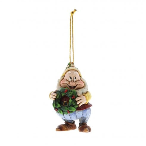 Disney Traditions Christmas Happy Hanging Ornament