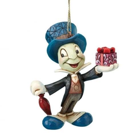 Jiminy Christmas.Disney Traditions Jiminy Cricket Christmas Hanging Ornament