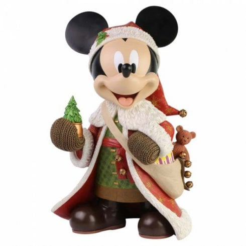Disney Showcase Christmas Mickey Mouse Statement Figurine