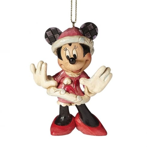Disney Traditions Christmas Minnie Mouse Hanging Ornament