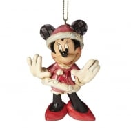 Christmas Minnie Mouse Hanging Ornament