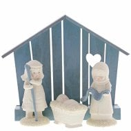Christmas Nativity Set Of 4 Figurine