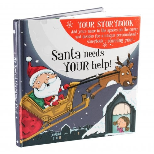 History & Heraldry Christmas Storybook - Santa Needs Your Help! Female Version
