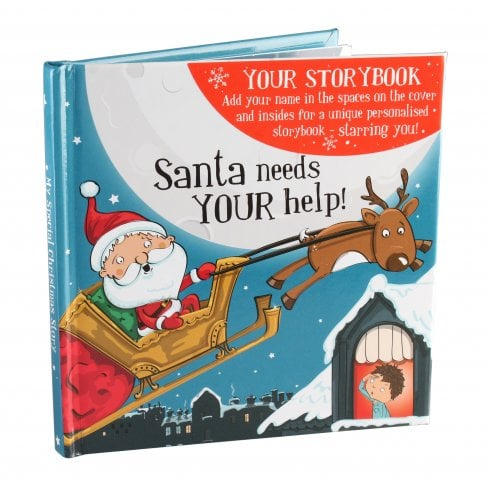 History & Heraldry Christmas Storybook - Santa Needs Your Help! Male Version