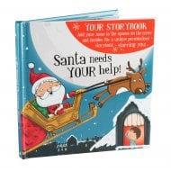 Christmas Storybook - Santa Needs Your Help! Male Version