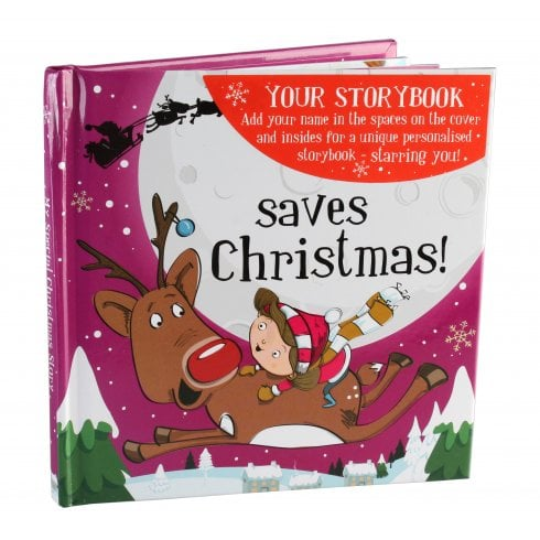History & Heraldry Christmas Storybook - Saves Christmas Pink Female Version