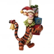 Christmas Tigger Hanging Ornament