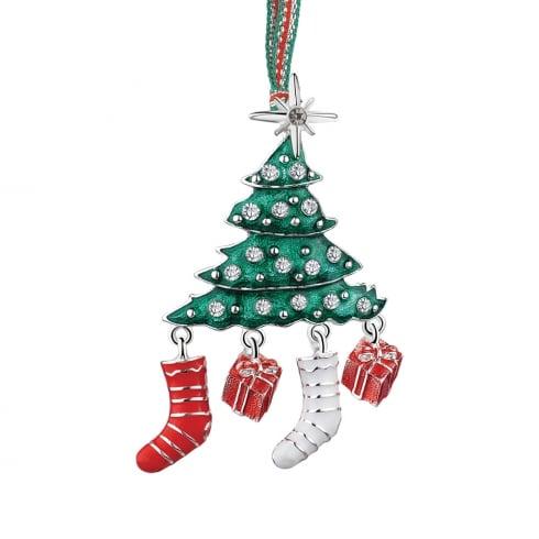 newbridge silverware christmas tree hanging decoration