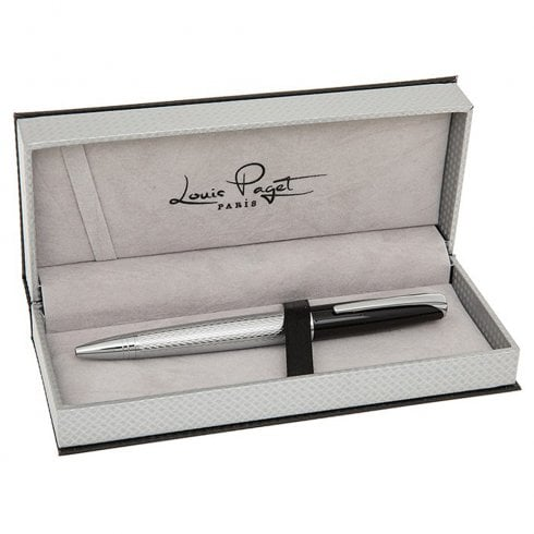 Joe Davies Chrome & Black Ballpen