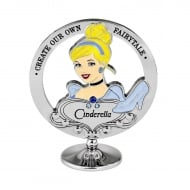 Chrome Plated Freestanding Cinderella Ornament