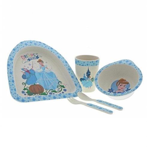 Disney Enchanting Collection Cinderella - Organic Bamboo Dinner set