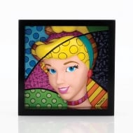 Cinderella Princess Pop Art Block