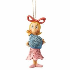 Cindy Holding Ball Hanging Ornament