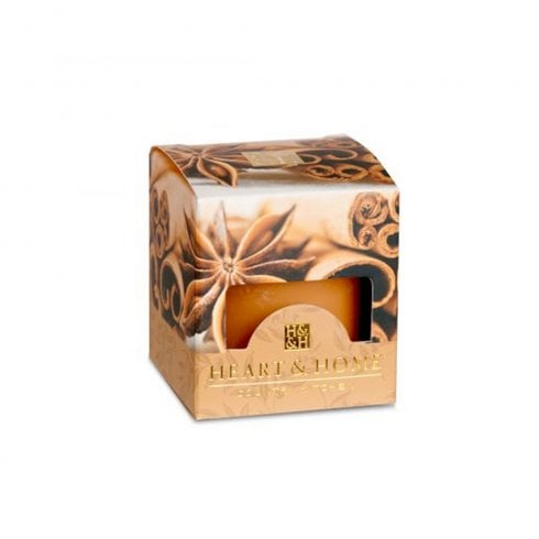 Heart & Home Cinnamon Spice Scented Votive Candle