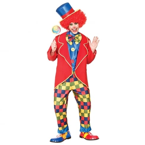 Wicked Costumes Circus Clown Medium