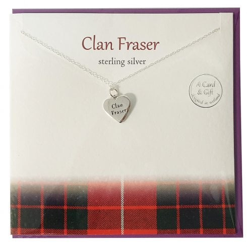 The Silver Studio Clan Fraser Pendant