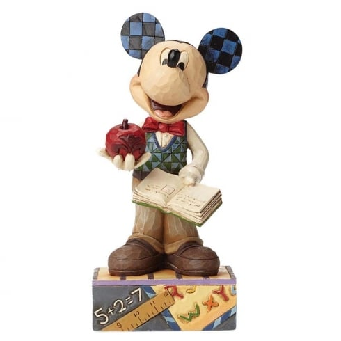 Disney Traditions Class Act Teacher Mickey Mouse Figurine