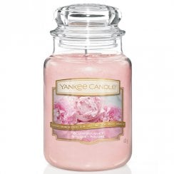 Classic Large Jar Candle Blush Bouquet