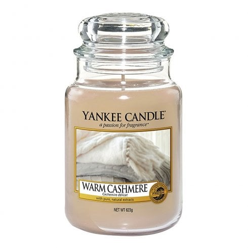 Yankee Candle Classic Large Jar Warm Cashmere