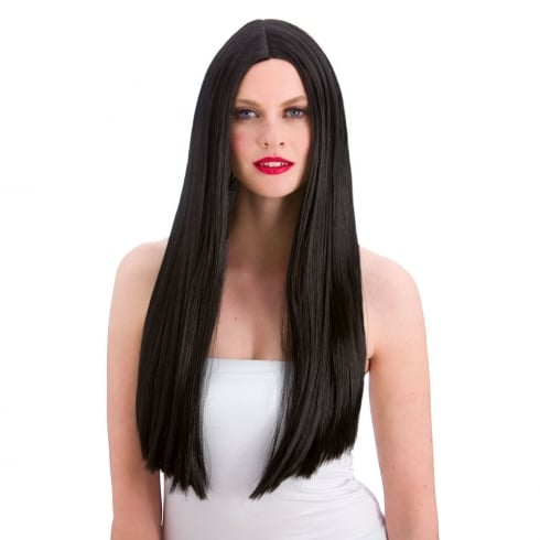 Wicked Costumes Classic Long Black Wig
