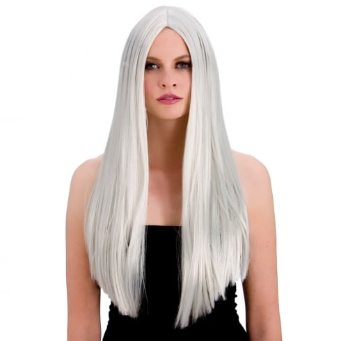 Wicked Costumes Classic Long Silver Wig