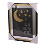 Classy & Fab Gold Frame I Love You