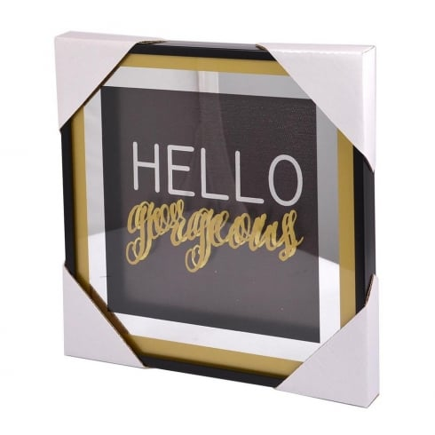 Xpressions 4 U Classy & Fab Small Gold Frame Hello Gorgeous