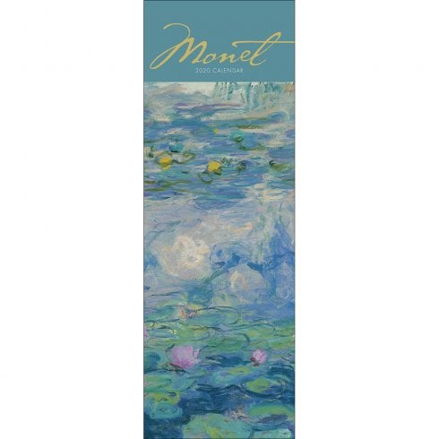 Otter House Claude Monet Slim Calendar 2020