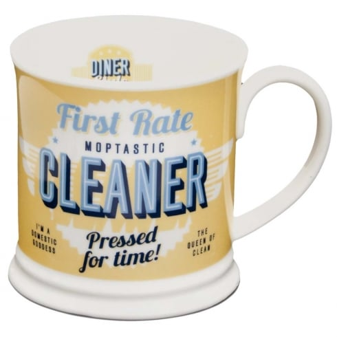 Diner Style Mugs Cleaner