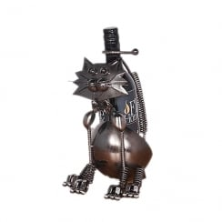 Cleo Cat Wine Bottle Holder