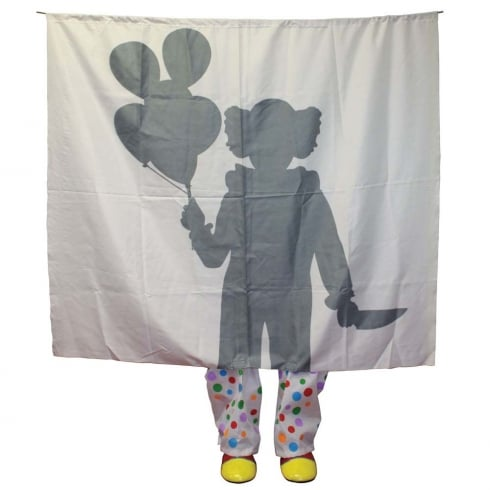 Fun World Clown Silhouette