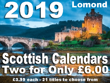 Lomond Scottish Calendars two for £6.00 Multibuy offer.