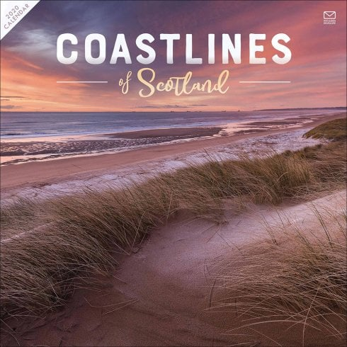 Otter House Coastlines Of Scotland 2020 Calendar