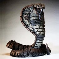 Cobra Figurine - Copper Brown