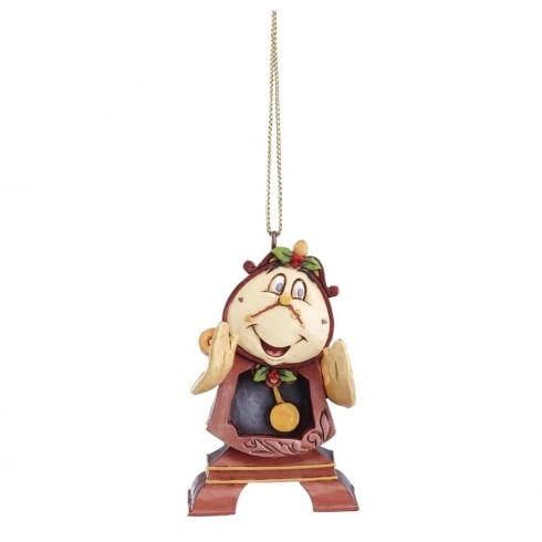 Disney Traditions Cogsworth Hanging Ornament Beauty and The Beast