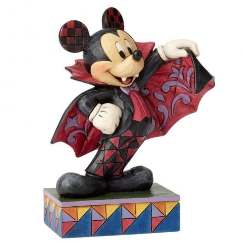 Disney Traditions Colourful Count Mickey Figurine