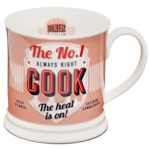 Diner Style Mugs Cook