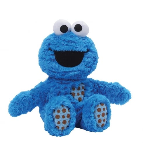 Sesame Street Cookie Monster Seated Soft Toy
