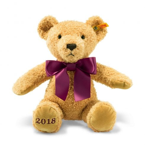 Steiff Cosy Year Bear 2018 Golden Brown