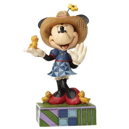 Disney Traditions Country Life Farmer Minnie Mouse Figurine